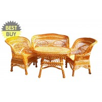 Set mobilier din rachita Kotan